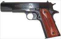 Colt 1991 Government .38 Super Pistol O2991, 38 Super, 5 in, Double Diamond Rosewood Grip, Blued Finish, 9 Rd