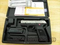 "Ruger SR9C Compact Pistol 3313, 9mm, 3-1/2"", Glass Filled Nylon Grip, Stainless Steel Finish, 17 Rd"