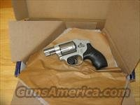 "Smith & Wesson 642 Airweight Revolver 163810, 38 Special, 1.87"", Rubber Grip, Stainless Finish, 5 Rd, Fixed Sights"
