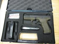 OD Green Walther P99QA 9mm, 15 RD