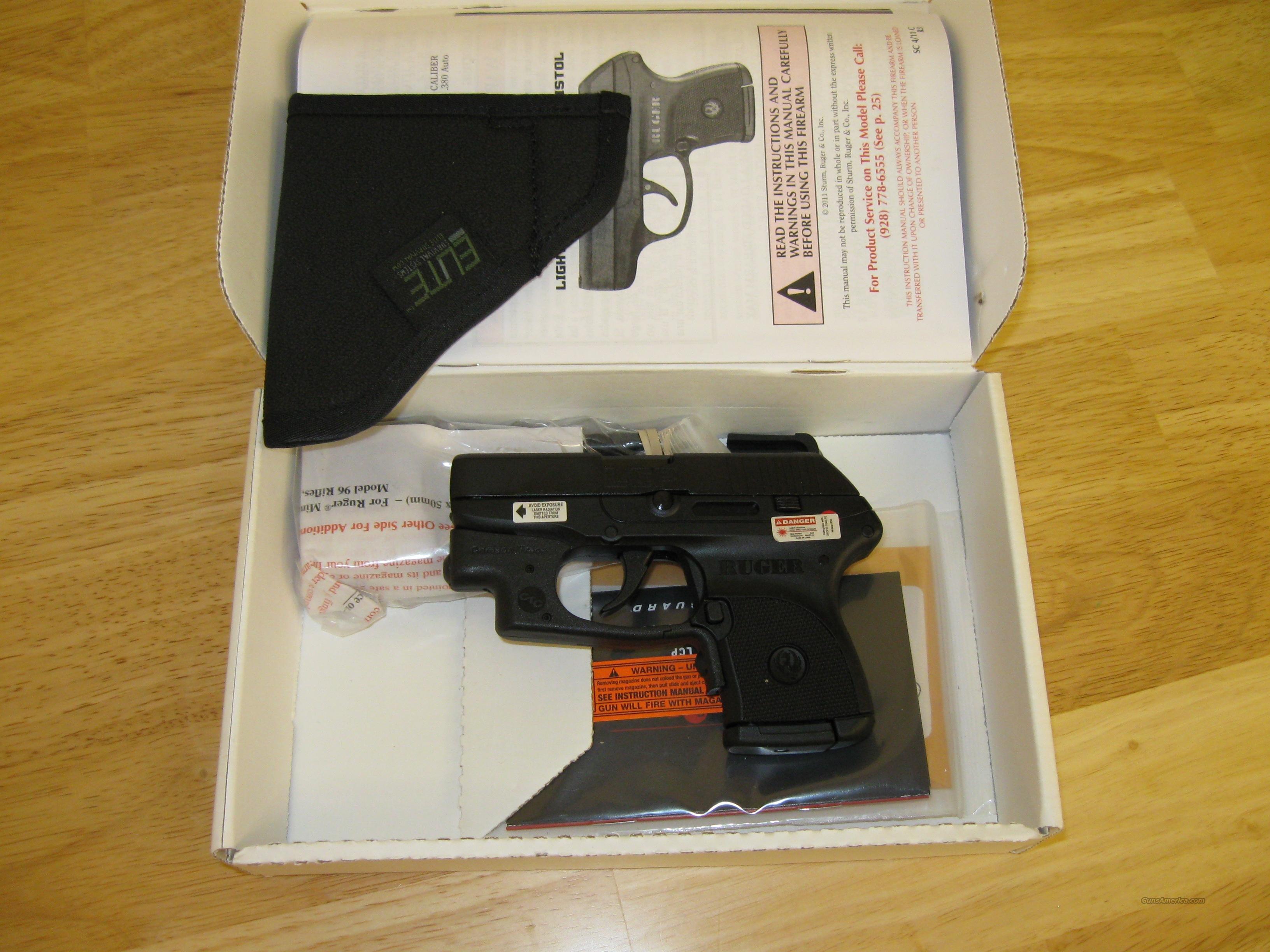 Ruger Lcp With Laser Pocket Holster