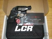 Ruger LCR LG Lightweight Compact Revolver 5402, 38 Special, 1.875 in, Crimson Trace Laser Grips, Matte Black Finish, 5 Rd