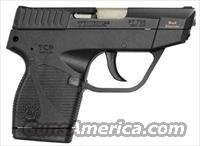 Taurus 738 Semi-Auto Pistol 1738039BSS, 380 ACP, 3.3 in, Black Grip, Blued Finish, 6 Rd