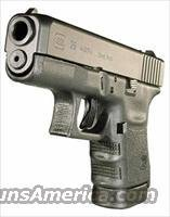 Glock 29 Subcompact Pistol PI2950201, 10mm, 3.78 in, Polymer Grip, Black Finish, Fixed Sights, 10 Rd