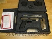 "Springfield XD Package XD9623HCSP06, 45 ACP, 5"", Checkered Polymer Grip, Stainless Slide/Black Frame, 13 Rd"