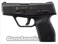 Taurus 709 Slim Semi-Automatic Pistol 1709031FS, 9mm, 2.84 in, Checkered Black Polymer Grip, Black Finish, 6 Rd