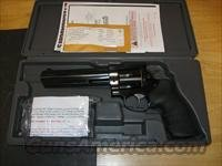 Ruger GP100 Double Action Revolver 1704, 357 Magnum, 6 in, Black Hogue Monogrip, Blue Steel Finish, 6 rd, Adj Sights