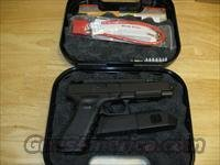 Glock 35 Competition Pistol PI3530103, 40 S&W, 5.32 in, Polymer Grip, Black Finish, Adjustable Sights, 15 Rd