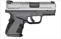 "Springfield XD Mod.2 Sub Compact Pistol XDG9845SHCSP, 45 ACP, 3.3"", Black Polymer Grip, Melonite Finish, 13 Rd"