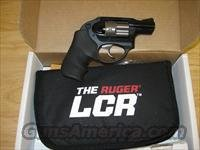 Ruger LCR Lightweight Compact Revolver 5401, 38 Special, 1.875 in, Hogue Grip, Matte Black Finish, 5 Rd