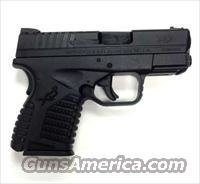 Springfield XDS Compact Pistol XDS9339B, 9mm, 3.3 in, Black Polymer Grip, Black Melonite Finish, 7 Rd