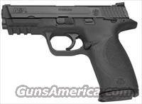 Smith & Wesson M&P 40 Full Size Semi-Auto Pistol 206300, 40 S&W, 4 1/4 in, Black Synthetic Grip, Black Finish, 15 Rd, Ambi Safety
