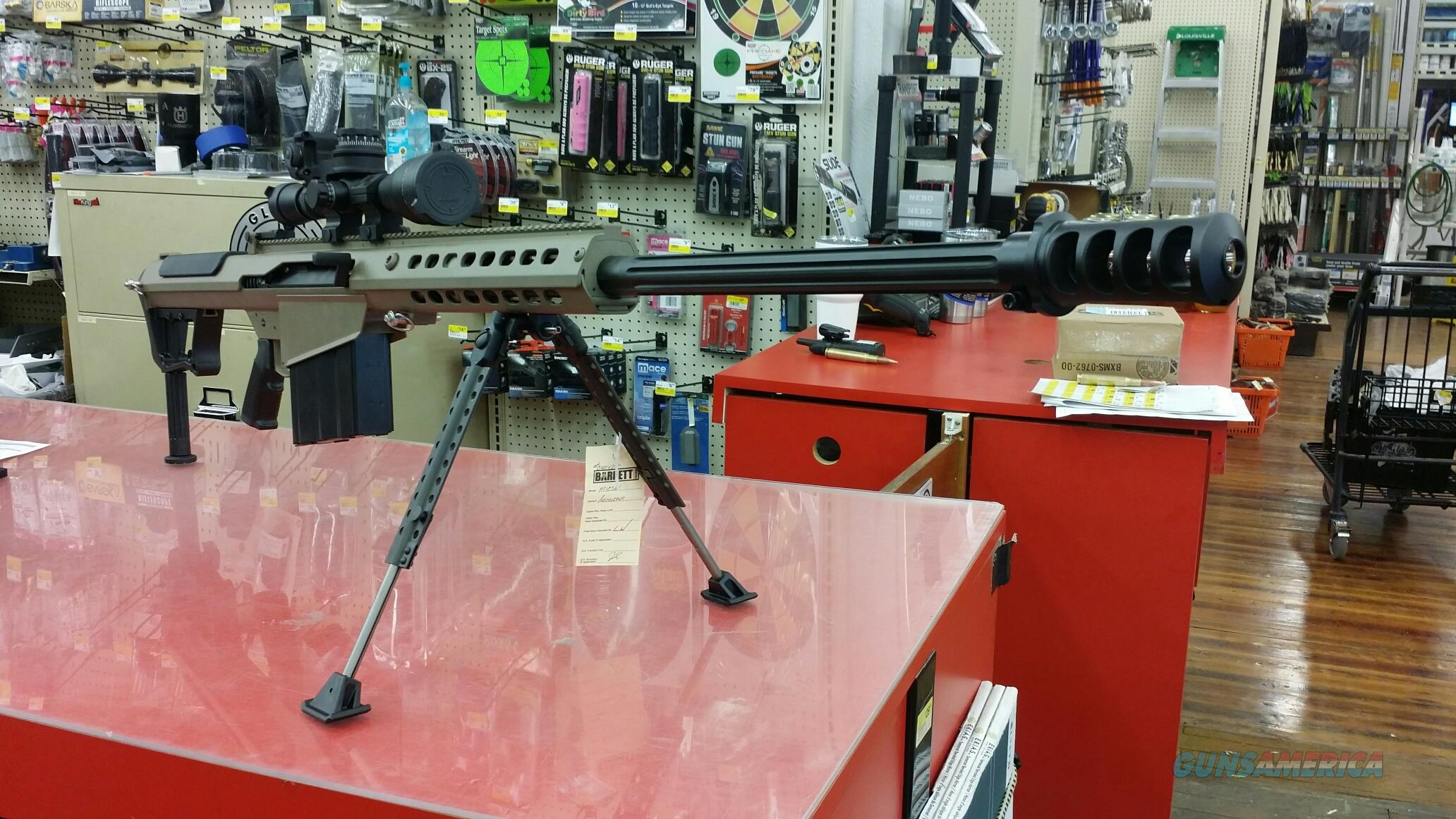 BARRETT M107 50BMG OD GREEN 29