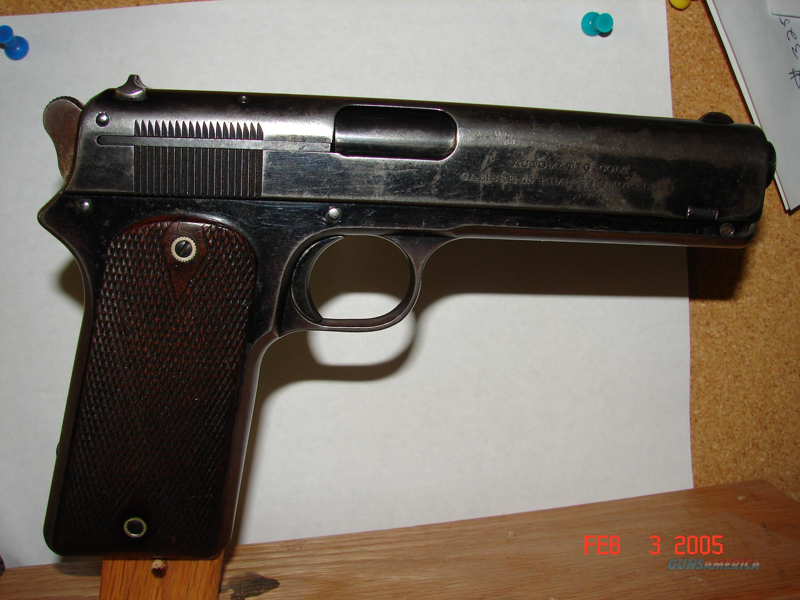 Colt 1905 45 Automatic for sale