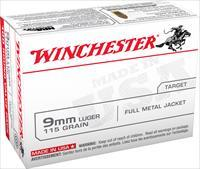 WINCHESTER 9MM AMMO 1000RD CASE