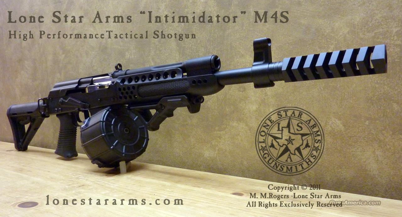 Saiga 12 Intimidator M4s Lone Star Arms Cus For Sale