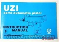 Action Arms Ltd. Uzi Semi Auto Pistol Instruction Manual NEW IMI MICRO