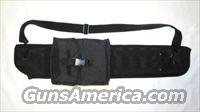 SAIGA 12 / DDI MOLLE / BENELLI Assaults SHOTGUN SCABBARD W/  20rd Drum Pouch for MD-20 , Promag ,  or Wraithmaker Drum