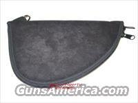 Gun Rug Pistol Case Black Suede for Colt / S&W / Glock and extra Magazine Mag Etc