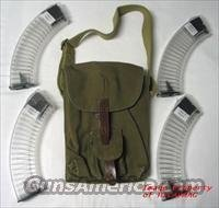 AK 47 (4)  NEW 40RD BULGARIAN MAGAZINES COMPLETE WITH 4 MAG POUCH AK47 MAGAZINE AKM MAK90
