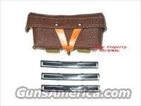 RUSSIAN SKS / AK47 3 Stripper Clip Magazine Mag Pouch with Stripper Clips