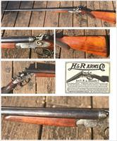 H&R Double Barrel Hammer Gun