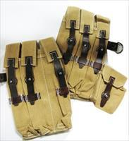 German MP40 Desert Tan Pouch Set
