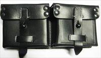 G-43 Leather Double Mag Pouch
