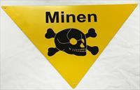 German WW2 Mine Sign