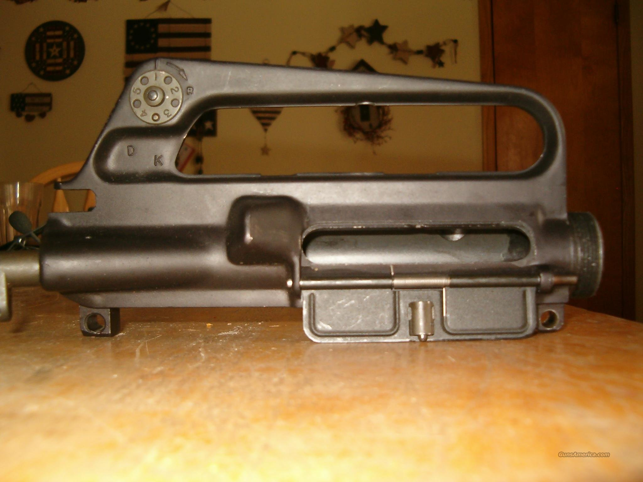 AR-15 A1 upper receiver complete plus buffer assem & stock