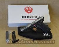 3906 Ruger 22/45 Lite Cobalt Anodized - 22 LR - New for 2014