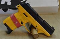 3269 Ruger LC9S Contractor Yellow Cerakote - 9mm