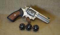 "Ruger GP100 Stainless 4"" - 357 Mag - Used Comes w/ Three Speed Loaders"