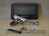 10118 Ruger Mark III Hunter Stainless - 22 LR