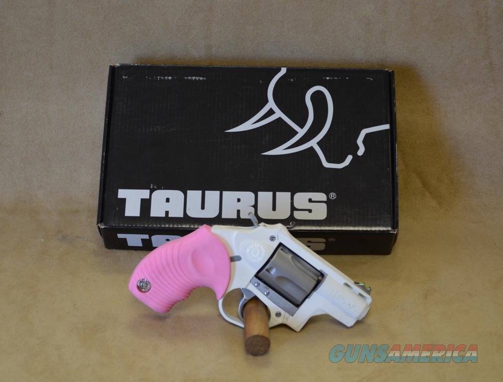 Taurus 85 Protector Poly Pink/White - 38 Special + P - ANIB