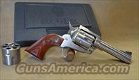 0310 Ruger New Model Blackhawk Stainless - 357 Mag / 9mm - Exclusive