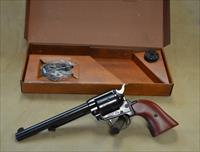 "Heritage Arms Rough Rider Combo 6.5"" - 22 LR/22 Mag - Used with box - Consignment"