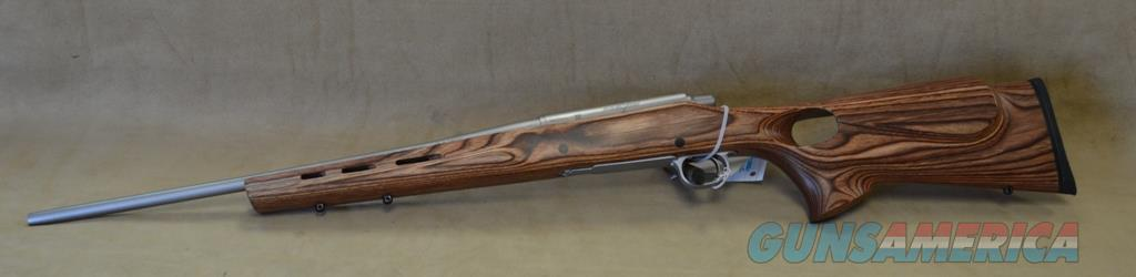 Remington Model Seven Stainless w/ Nutmeg Thumbhole Stock - 223 Rem - New  in box - Consignment