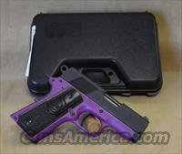 "IJ20 Iver Johnson 1911 Thrasher 3.12"" Lavender Frame - 9mm"