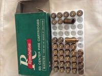 27 UNFIRED REMINGTON 45 AUTOMATIC TARGETMASTER 185 grain WAD CUTTER INDEX 6745 +8 empties