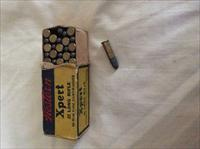 FULL BOX OF  50 WESTERN XPERT 22 LONG RIFLE RIM FIRE CARTRIDGES VINTAGE