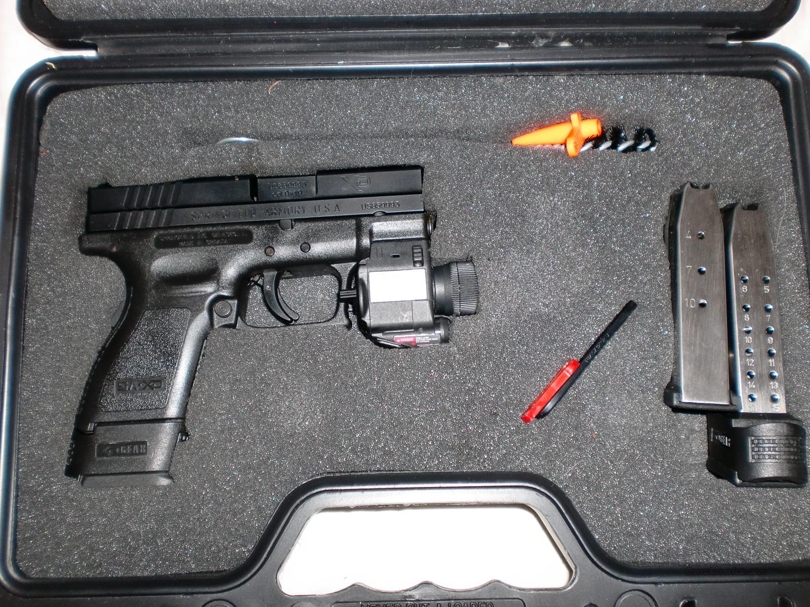 SPRINGFIELD ARMORY XD-9 SUB-COMPACT 9mm w/ LASER+LIGHT COMBO