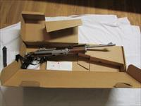 Ruger factory folder Mini 14 stainless steel rifle 1987 manf. like new in box