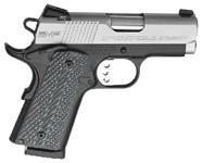 Springfield Armory, EMP, Model #PI9241LP, .40S&W Caliber, Stainless Steel Slide/Blue Frame, G10 Composite Grips,