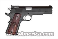 "Springfield Armory ""Range Officer,"" 5"" Barrel, 7+1 Capacity, Single Action, SKU #PI9128, 45ACP, Parkerized, with Cocobolo Grips with Cross Cannon Logo, Dovetail Target Front Sight, Low Profile Adjustable Rear Sight, with 2 Magazines..."