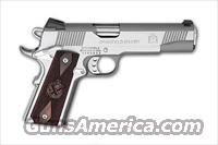 "Springfield Armory, PX9151LP, Stainless Steel, Cocobolo Grips, Fixed Sights, 1911A1, 7+1, 2-Mags, Novak Low Mount Sights, 5"" Barrel,"