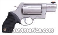 TAURUS JUDGE PUBLIC DEFENDER ™ , Stainless Steel, Concealed Carry, .45/.410 Caliber-SKU#2-441039TC
