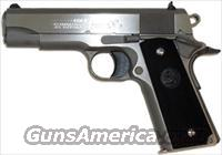 "COLT 1991A1, MODEL #04091U, 4-1/4"" BARREL, COMMANDER .45ACP 4.5"" FS 7-SHOT, BRUSHED STAINLESS STEEL, SYNTHETIC GRIPS"