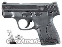 Smith & Wesson M&P9 Shield, Black Melonite Finish, Polymer Frame, SKU #180021