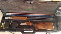 Perazzi MX10 RS O/U 12 gauge with 29.5 Barrel and Briley Fitted Ultralite 28 Ga. Tubes